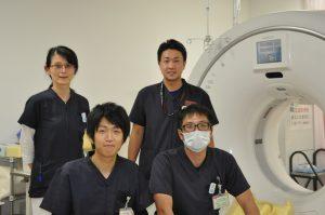 写真:放射線技術科スタッフ