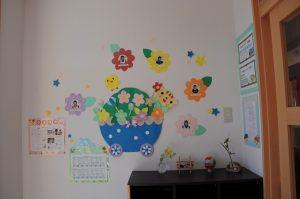 写真:園内壁面