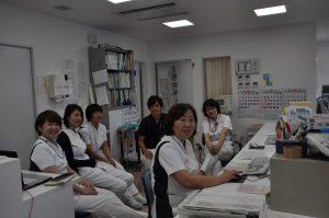 写真:透析室スタッフ