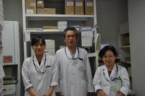 写真:薬剤科スタッフ