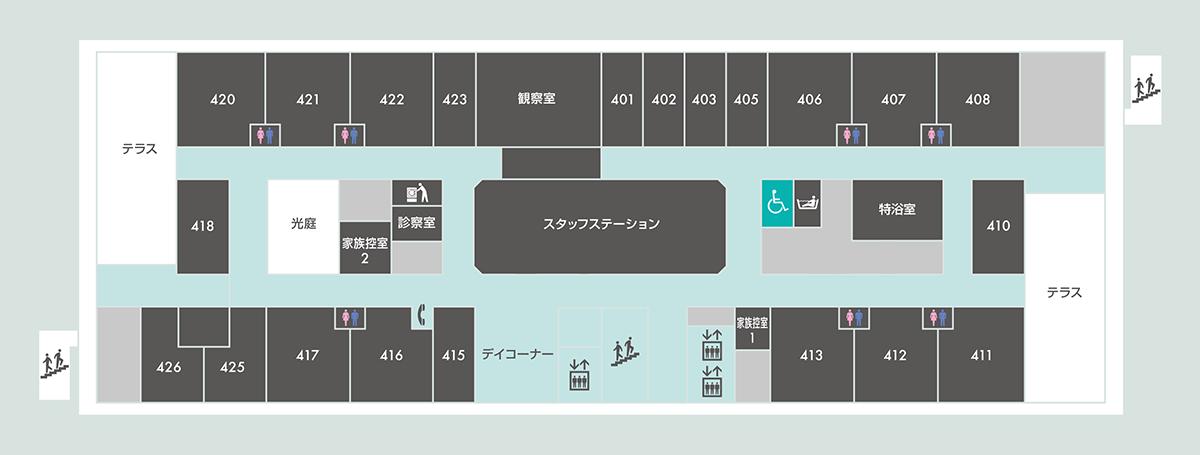 4階案内図